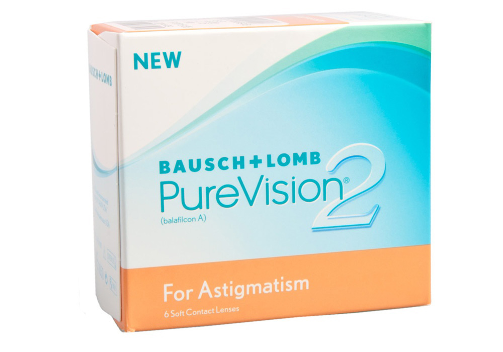 Bausch & Lomb PureVision 2 for Astigmatism $80.00 per box