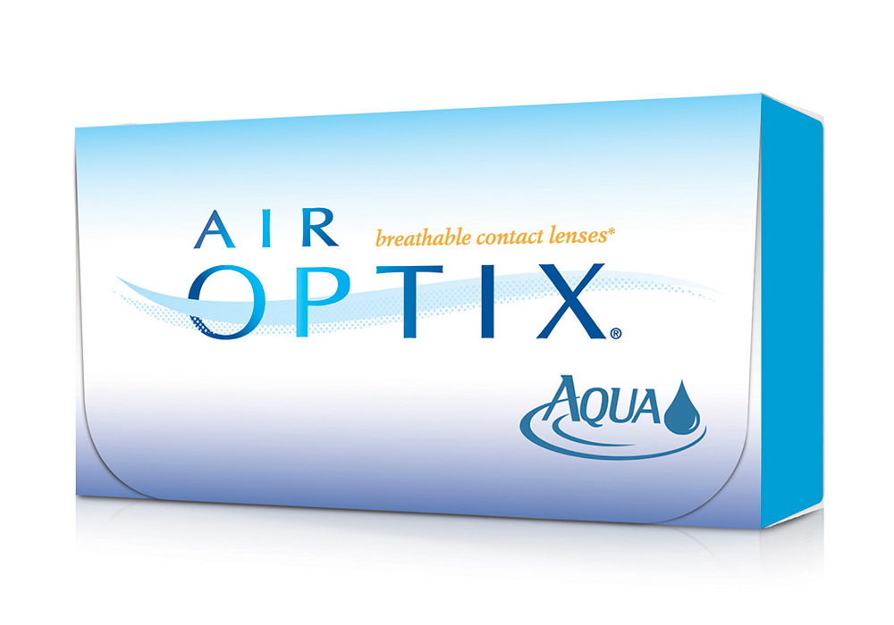 Alcon Air Optix Aqua $50.00 per box