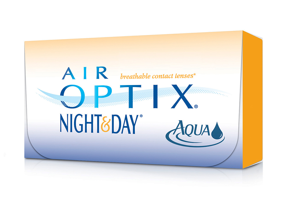 Alcon Air Optix Night & Day Aqua $80.00 per box