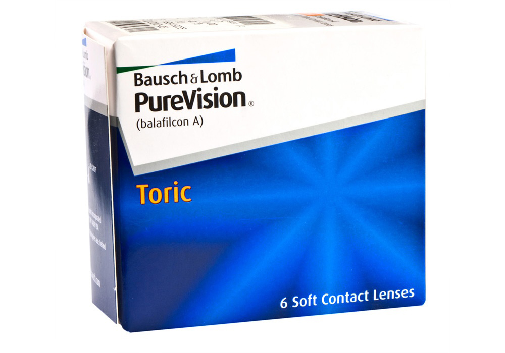Bausch & Lomb PureVision     Toric   $80.00 per box