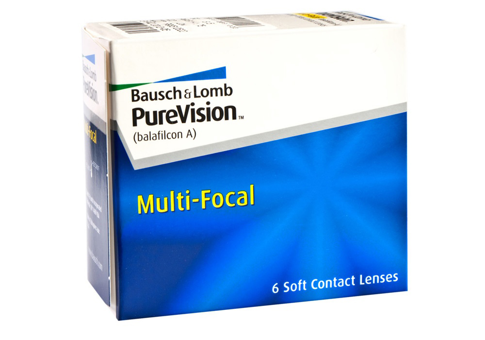 Bausch & Lomb PureVision     M    ultifocal   $85.00 per box