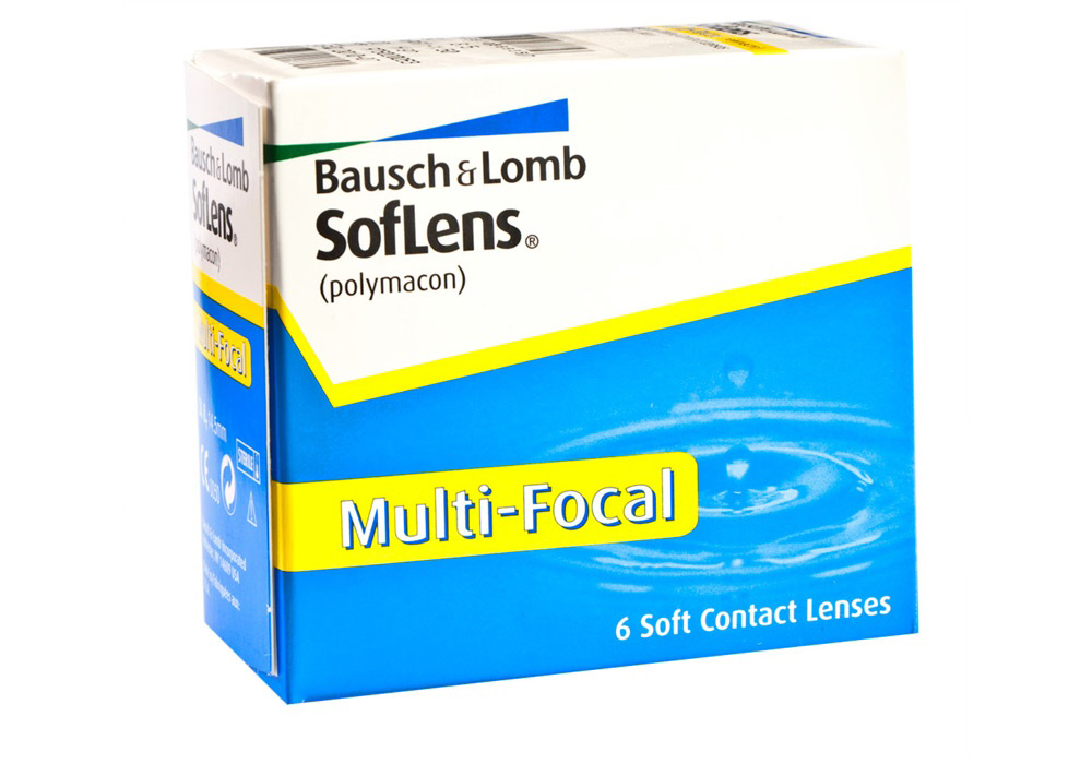 Bausch & Lomb SofLens Multifocal $85.00 per box