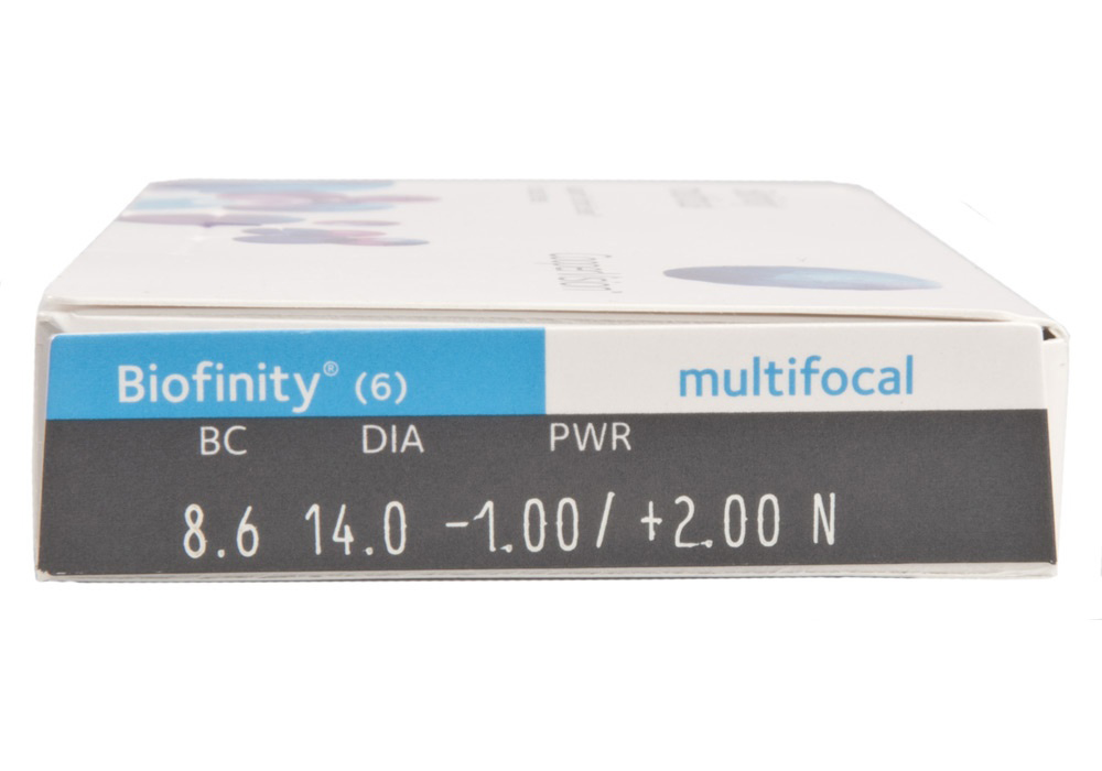 Biofinity Multifocal Side