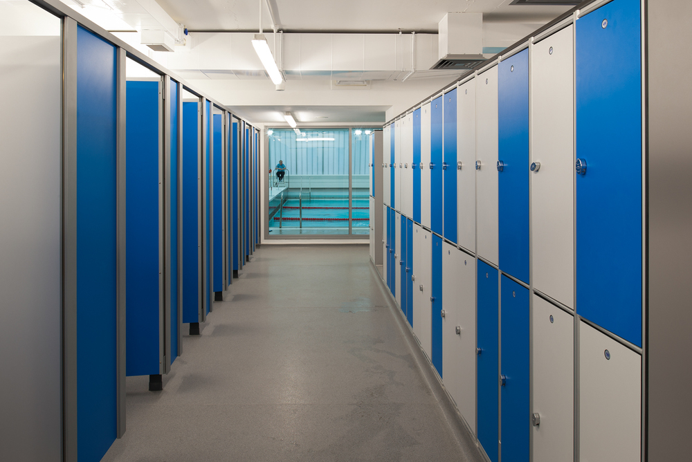 University Of Liverpool Swimming Pool Architectural Photographer David Millington