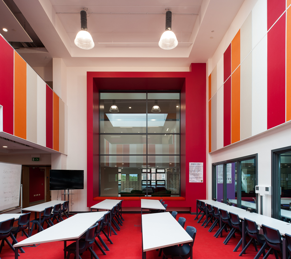 St. Mary's Catholic College Classroom | Architects: IBI Nightingale | Main Contractor: Eric Wright Construction
