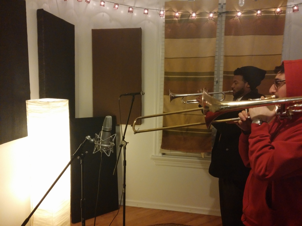 HornBread Recording @ The Coach House, Dec 2013