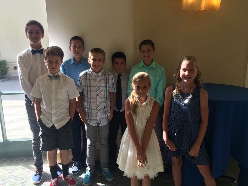 2016 Little Scholars Banquet Attendees Represented Temecula Valley Pop Warner