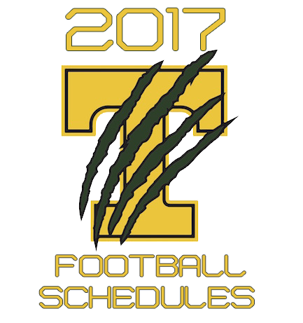 Click on the image to view the 2017 schedule (week 1-4)