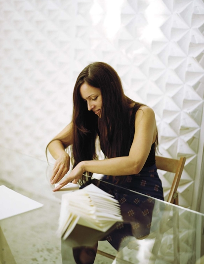 "Kyla has been named ""London's new Queen of Origami"" by one interiors writer."