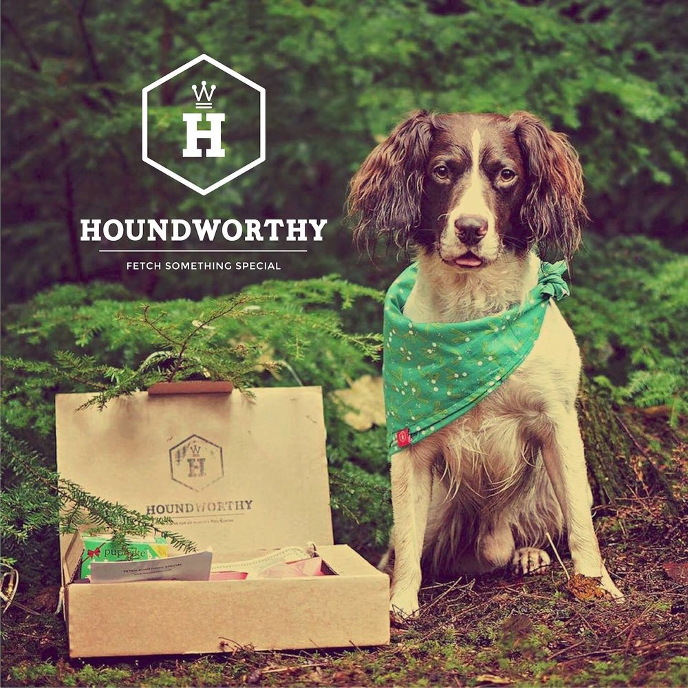 HOUNDWORTHY     Stylish gifts for dog lovers. Fetch something special.
