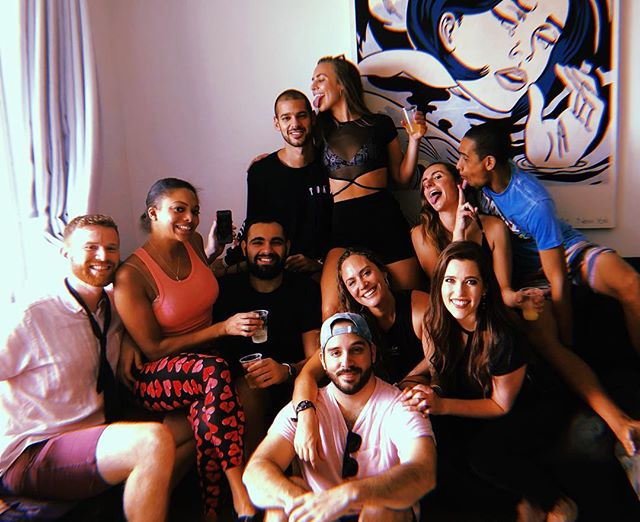 6 months ago today I moved to Miami. I had no idea what this new season would bring, but I can say it's been beyond what I could have ever imagined. My life in the 305 has been nothing short of amazing and largely in part to these beautiful people. I'm more blessed than I can express. Here's to the next 6 months and beyond. Love you my DABS. 💋🖤🍾