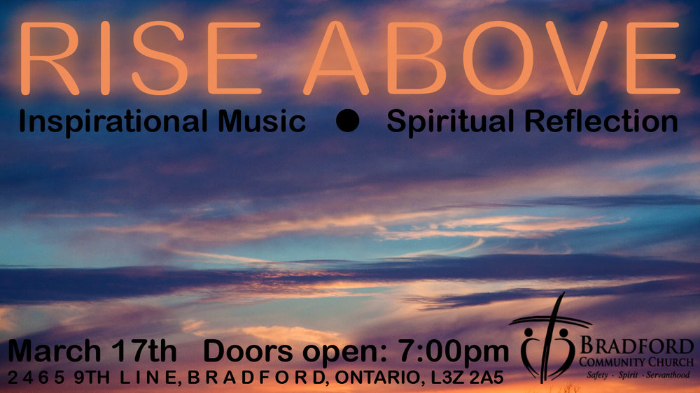 Our next Worship and Prayer night is on February 3rd at 7:00 pm. Feel free to come and join us as we spend time in God's presence.
