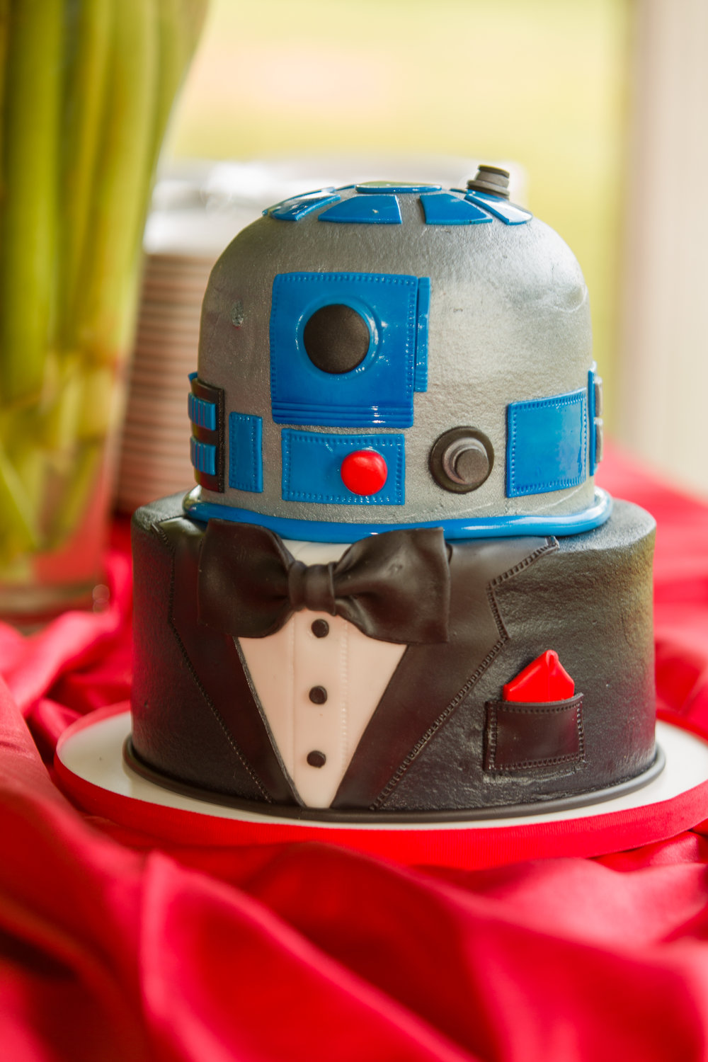 Best.  Groom's.  Cake.  Ever!