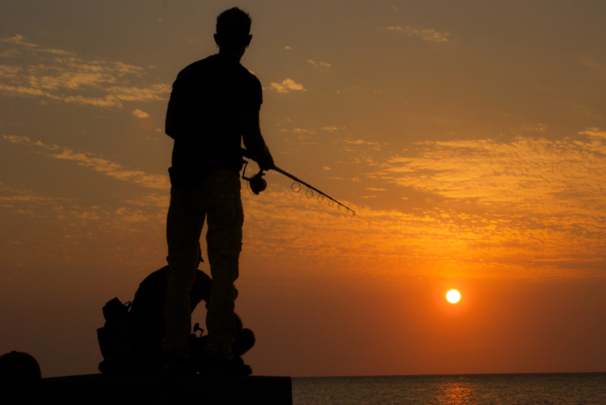 mark_FISHING AT SUNSET2.jpg