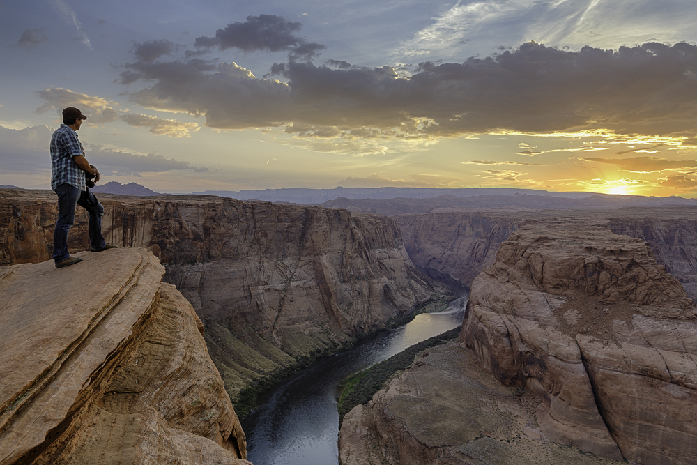 Photo ©Orlando Morantes/Horseshoe Bend, Arizona