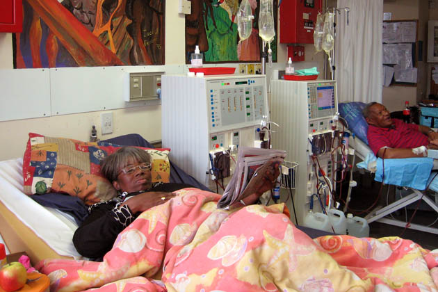 """Life and Death Choices as South Africans Ration Dialysis Care"" for ProPublica, December 15, 2010."