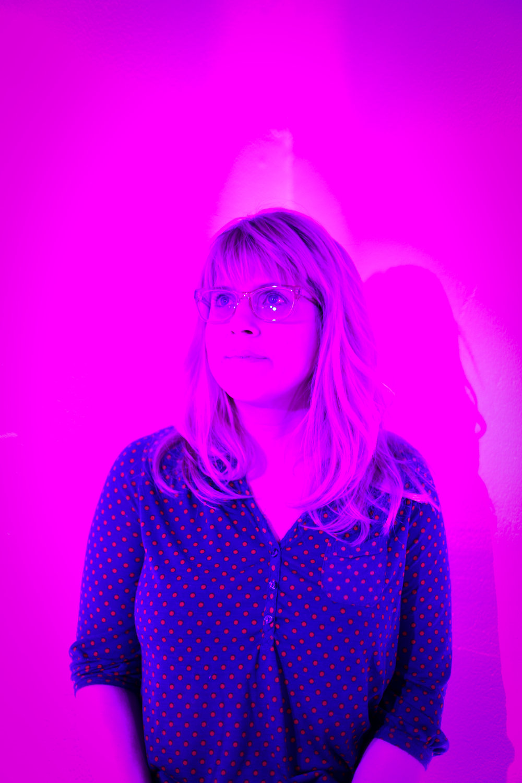 Sarah in Purple | Third Eye Chakra