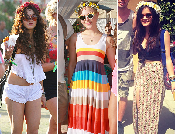 Flower crowns are the hottest accessory for  coachella