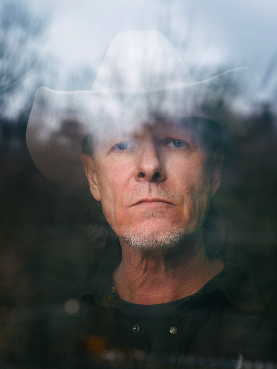Michael Gira of Swans, photographed for Sasha Frere-Jones's music column in The New Yorker.