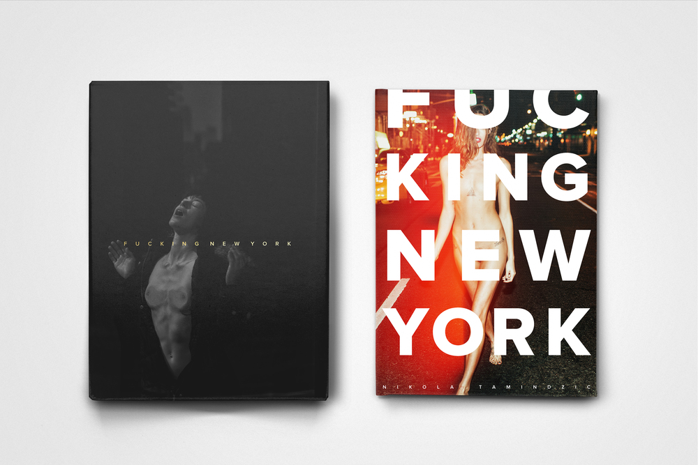 Fucking New York Collector's Edition box (left); Fucking New York POP! Edition (right)
