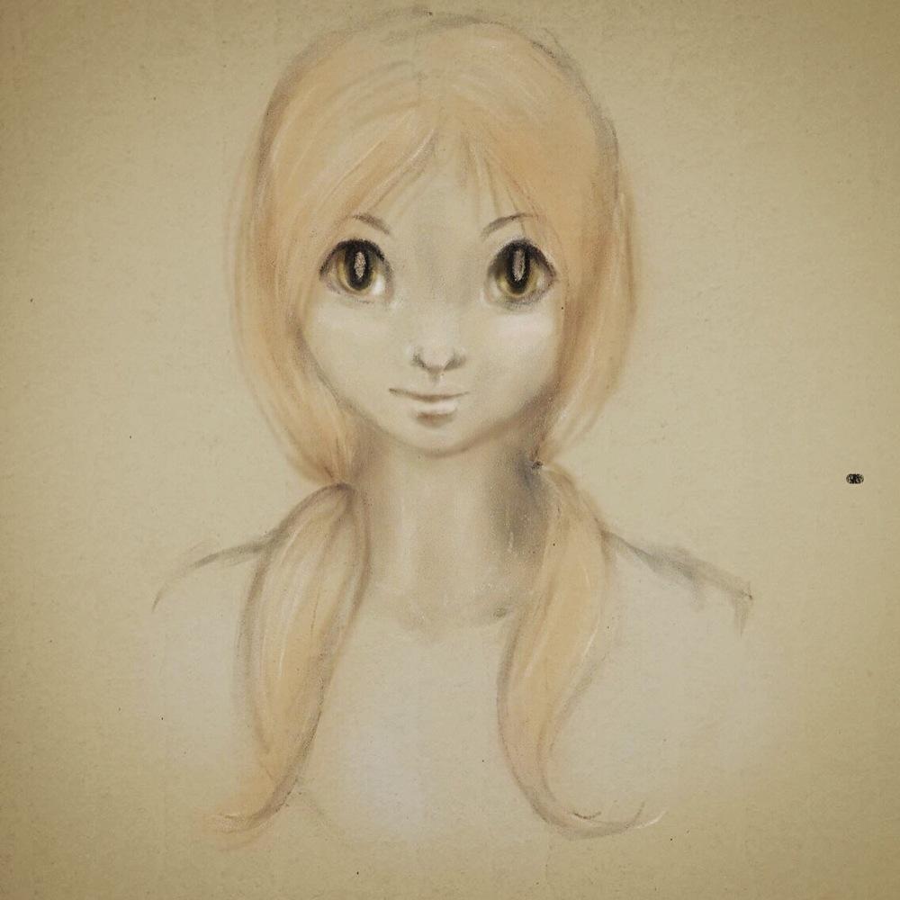 Green Eyed Anime Girl