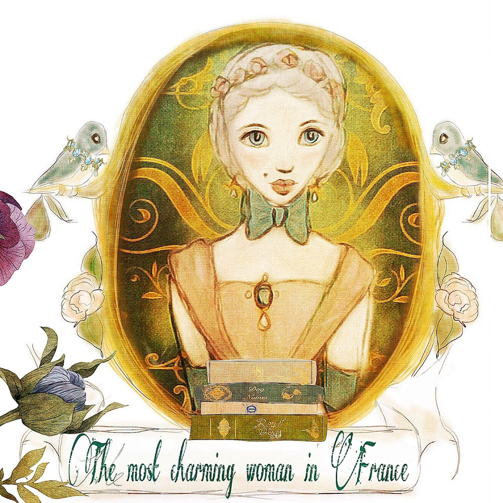 Pompadour Illustration