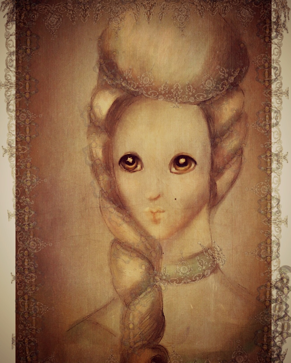 Marie Antoinette illustration