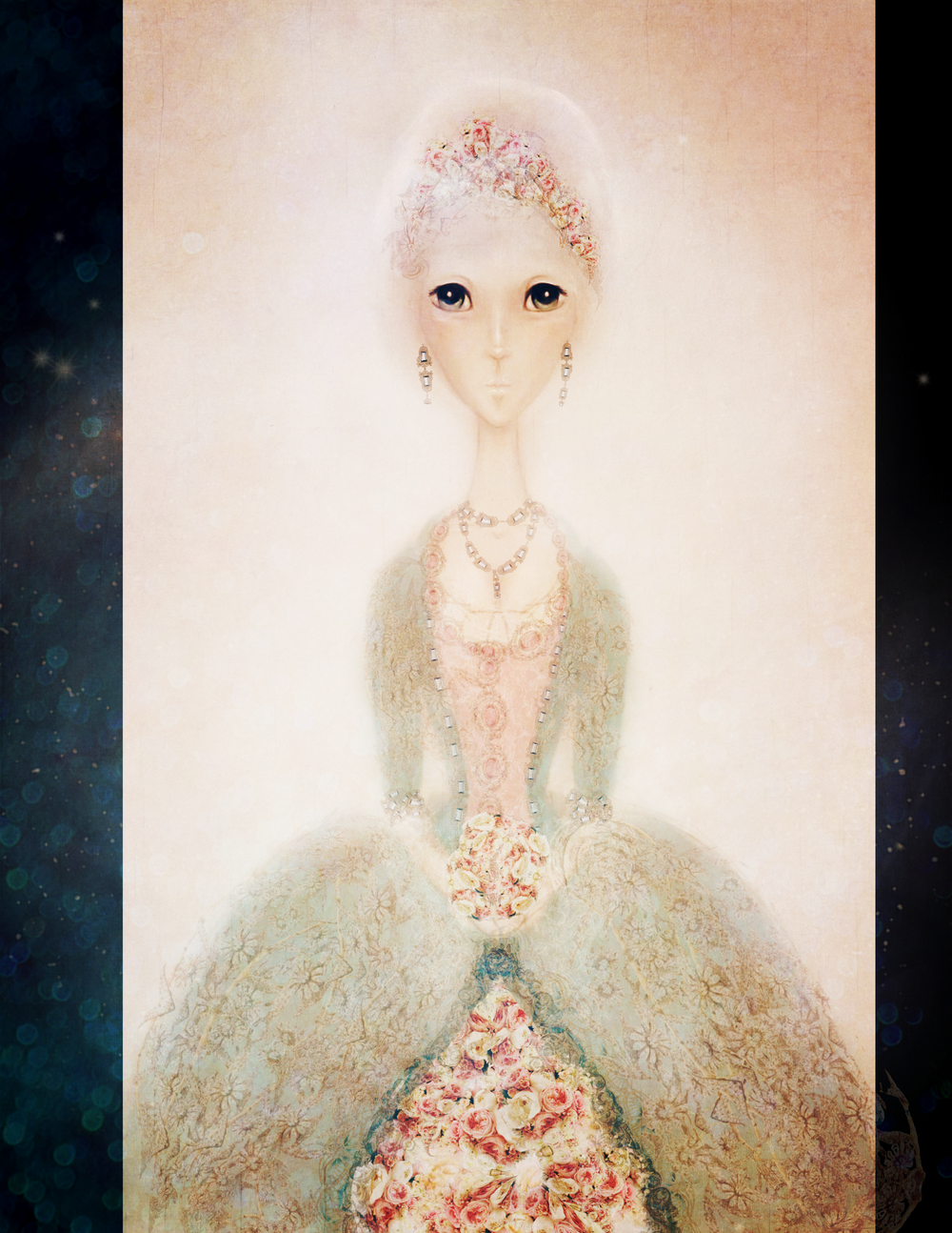 Anime Marie Antoinette illustration