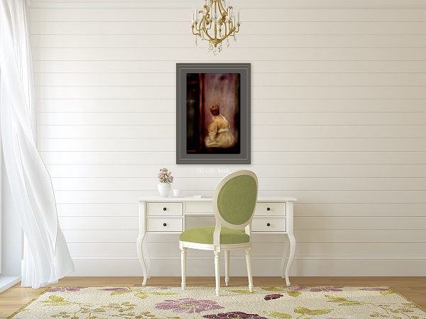 Romantic Wall Art for Feminine Office