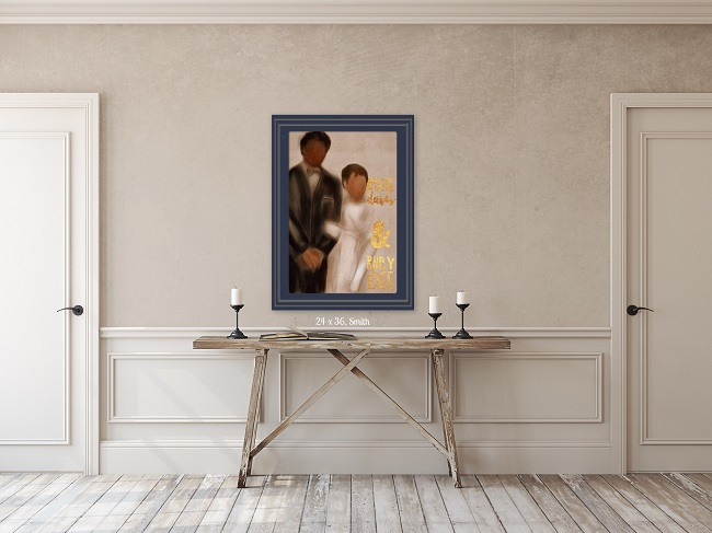 Ruby Dee and Ossie Davis Wall art