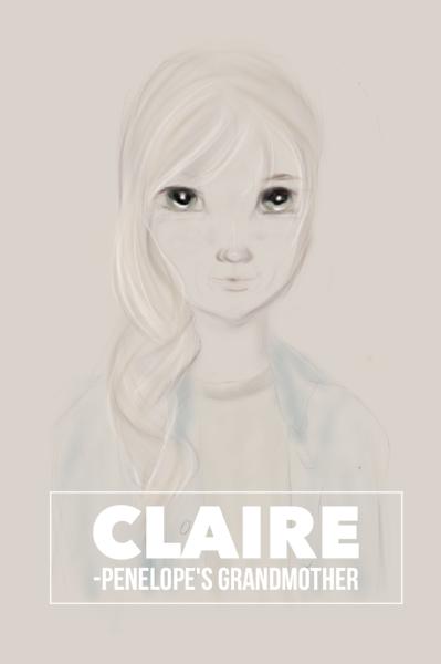 Grandma Claire Character Design