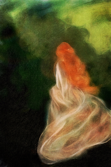 Fairy Oil Painting Dreams of Scotland