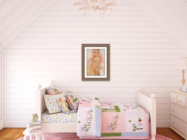 Little Girl's Bedroom Inspiration...shiplap!