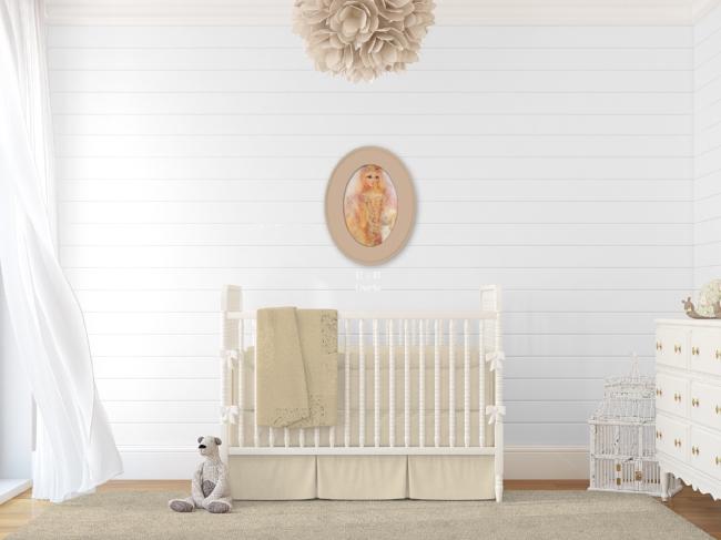 Rustic Nursery Wall Art Inspiration
