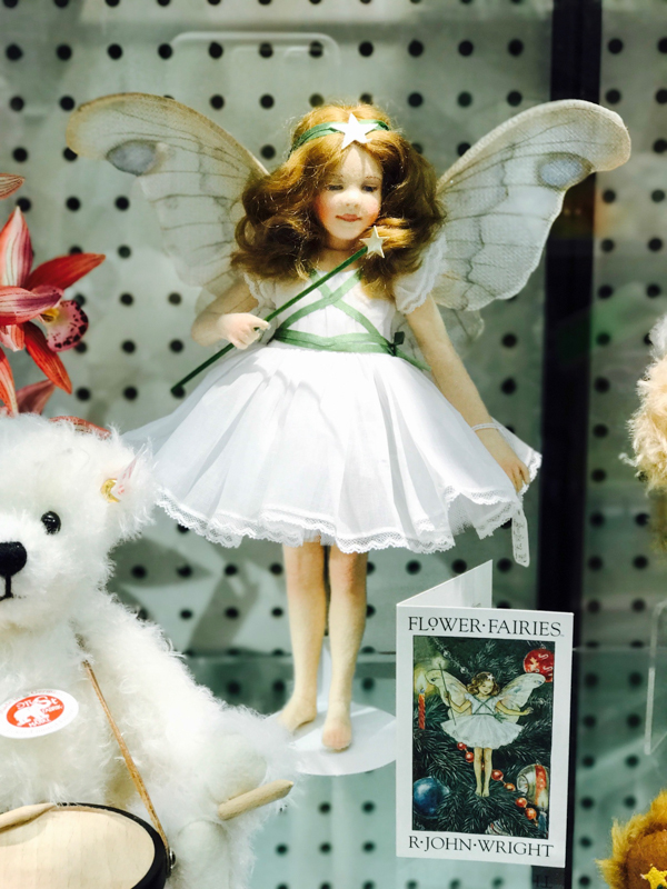 Fairy Searching at Talbots Toys