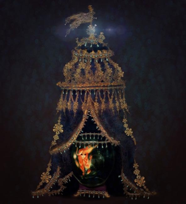 Mermaid Exhibit {Fairies of Versailles}