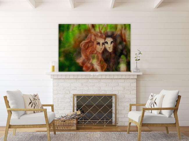 Woodland Fairy Wall Art