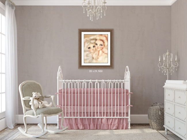 Fairy Nursery Wall Art {Fairies of Versailles}