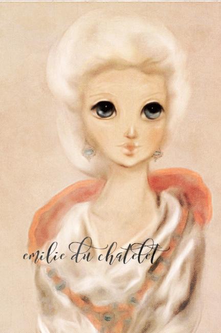 Emilie du Chatelet illustration