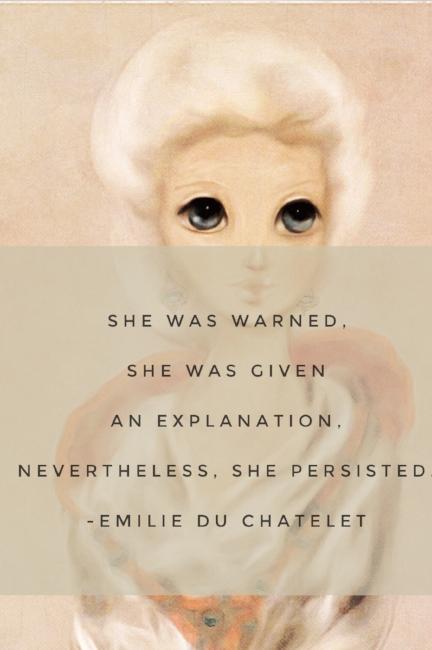 Emilie du Chatelet women in STEM