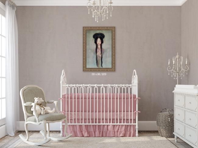 Nursery Wall Art Pastel
