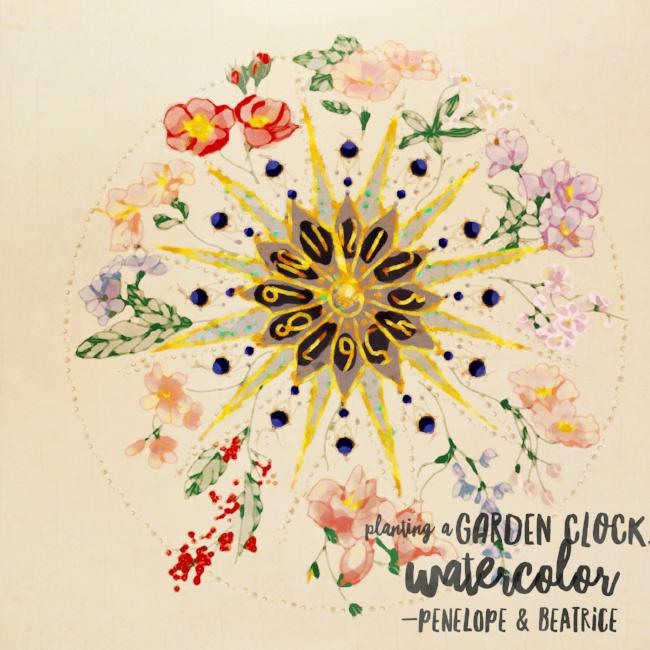 Illustration of Carl Linnaeus Flower Clock