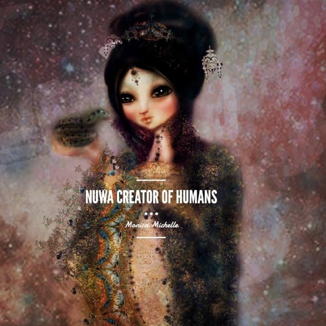 Nuwa Chinese Goddess Illustration