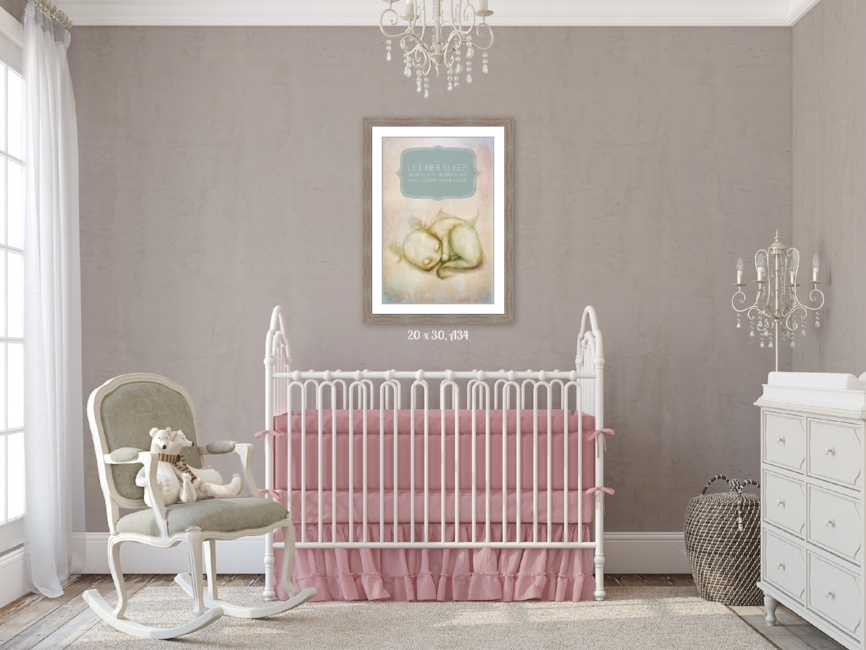 Restoration Hardware Inspired Nursery Design