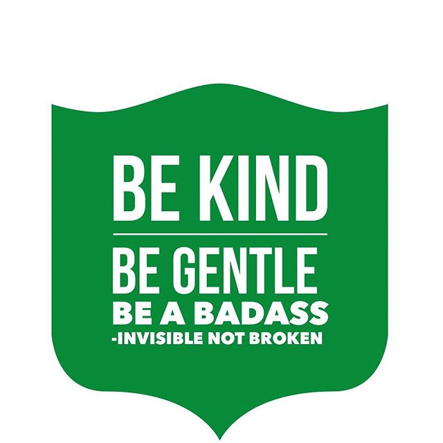 Our tag line for Invisible Not Broken Podcast Be Kind. Be Gentle. Be a Badass.  www.invisiblenotbroken.com listen this week all about #crohnsdisease , Toxic friend cleanse and #Canadian healthcare  #theeverygirl #risingtidesociety  #mytribe  #youareenough  #seekthesimplicity #intentionalliving #stayinspired #lifelivedbeautifully #gritandvirtue #spoonie #ehlersdanlos #chronicillness #invisibleillness #disabled #selfcare #eds #chronicpain #prorecovery #pots #dysautonomia #fibromyalgia #raredisease #spooniestrong #sickandtiredofbeingsickandtired #disability #wellnessblogger #chronicillnesswarrior #spoonielife
