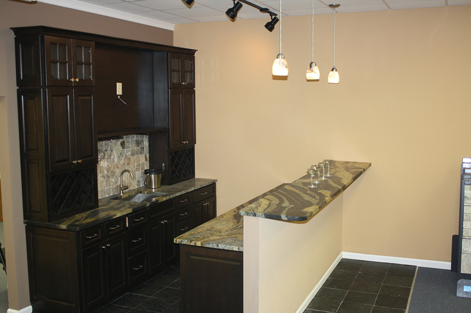 Cabinets, Bar And Sink By KB Innovations