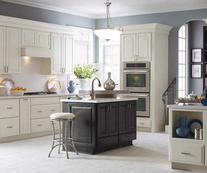 off_white_kitchen_cabinets_dark_grey_island.jpg