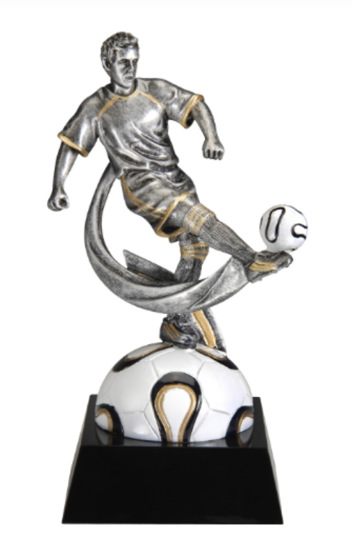"Soccer, Male -    Small - MX705 - 7"" tall"