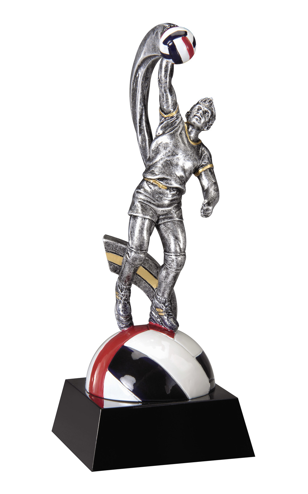"Volleyball, Male -    Small - MX725 - 8"" tall"