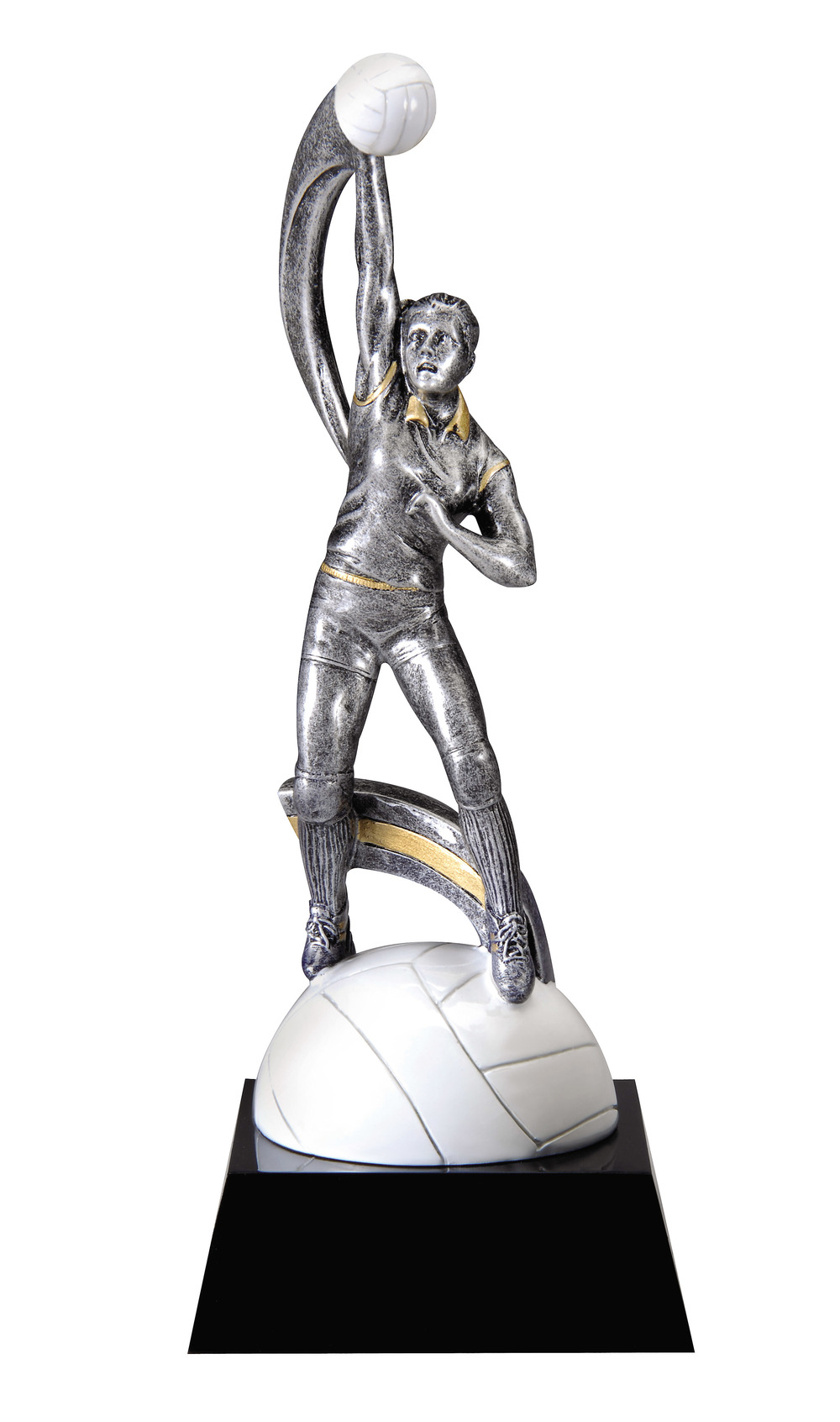 "Volleyball, Female -   Small - MX726 - 7.25"" tall"
